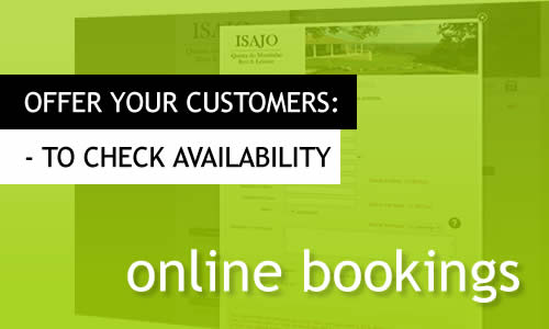 Have your clients check availability online.