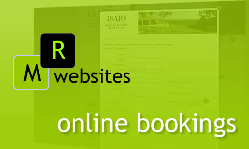 MR Websites online booking systems. Have your clients check availability online. Your clients can book online via your website.