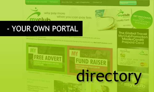 Beheer uw eigen MR Websites Portal of directory.