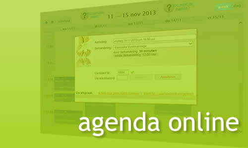 MR Websites online Agenda Systeem
