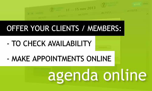 MR Websites: your customers schedule an appointment online!