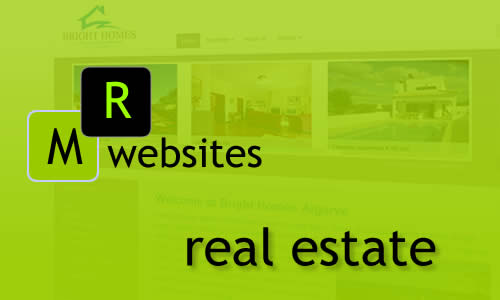 MR Websites expert in real estate websites. Logisch search engine tool. Image slide shows, responsive video implementaties. Op maat back offices